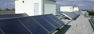 Juri SolarwärmeManager für große Gebäude